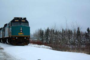 Locomotora VIA Rail Canadá