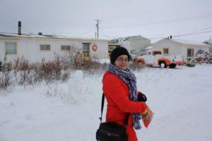 Ruth en el Polar Bear B&B