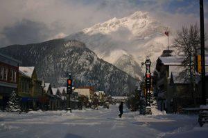 Calle de Banff Canada