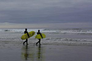 Surfistas en Tofino