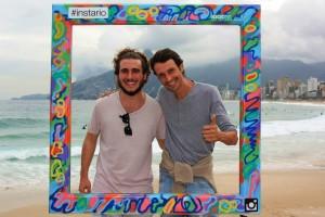 Gregorio & Victor en Ipanema